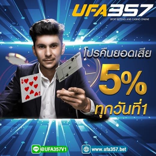 คืนยอดเสีย ufa357