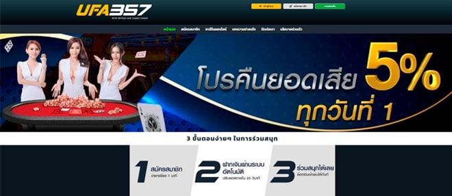 homepage ufa357